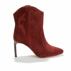 Caitlin Suede Stiletto Boots