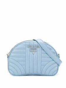 Prada quilted detail belt bag - Blue