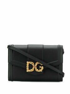 Dolce & Gabbana DG Amore Shoulder Bag - Black