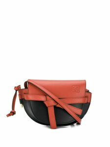 Loewe Gate colour block mini bag - Black