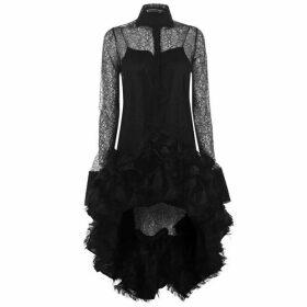 Anais Jourden Ruffle Dress