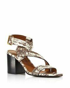 Chloe Women's Candice Embossed Chunky-Heel Sandals - 100% Exclusive