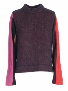 PS by Paul Smith Sweater L/s W/stripe Lurex