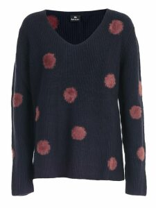 PS by Paul Smith Cardigan W/fur Insert