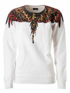 Marcelo Burlon Leopard Wings Crewneck Sweatshirt