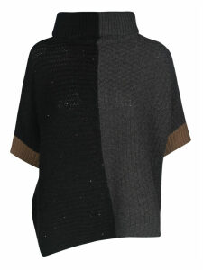 Lorena Antoniazzi Contrast Color Knit Jumper