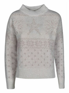 Lorena Antoniazzi Star Knit Sweater