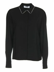 MSGM Crystal Embellishments Shirt
