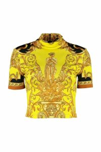 Versace Printed Top