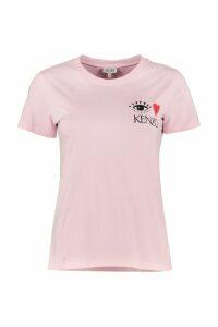 Kenzo Printed Cotton T-shirt