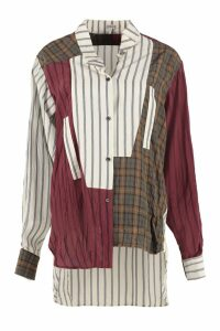 Loewe Crinkle Check Striped Shirt