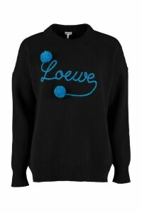 Loewe Long-sleeved Crew-neck Sweater