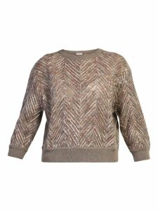 Brunello Cucinelli Sequinned Sweater