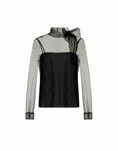 RED Valentino Long Sleeves Pois Shirt