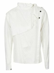 Isabel Marant Collar Tie Blouse