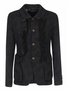 Comme des Garçons Ruffle Detailed Jacket