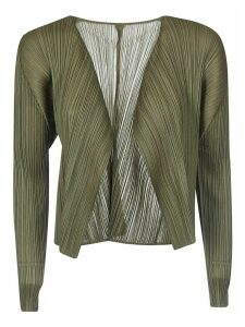 Pleats Please Issey Miyake Pleat Cardigan