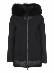 RRD - Roberto Ricci Design Back Padded Detail Furred Hood Jacket