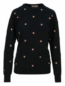 Maison Kitsune Emboidered Fox Sweatshirt