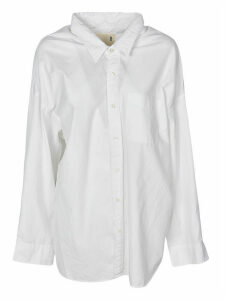 R13 Drop Neck Oxford Shirt