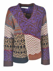 Tela Jacquard Sweater