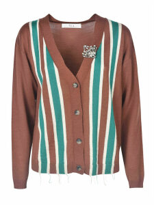 Tela Striped Cardigan