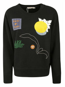 Tory Burch Embroidered Sweatshirt