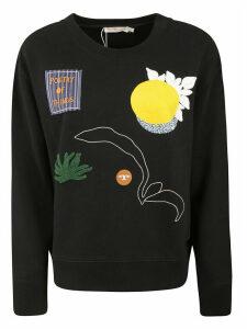 Tory Burch Embroidered Sweatshirt
