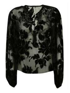 Saint Laurent Laced Blouse
