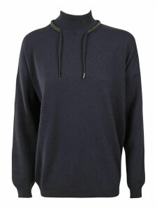 Brunello Cucinelli Drawstring Sweater