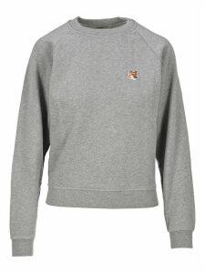 Maison Kitsune Fox Patch Sweatshirt