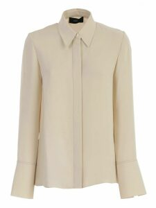 Joseph Shirt L/s Plain Silk