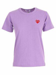 Comme des Garçons Play T-shirt S/s Plain