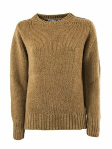 Fabiana Filippi Brown Wool Pullover