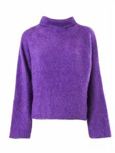Fabiana Filippi Purple Mohair Pullover