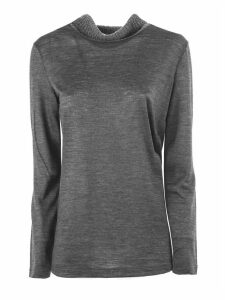 Fabiana Filippi Grey Wool Sweater