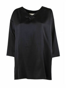 Fabiana Filippi Black Silk Top