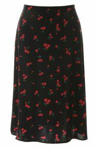 HVN Printed Wiona Skirt