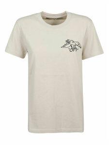 Off-White T-shirt Animals Portrait Casual