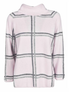 Bruno Manetti Check Knitted Top