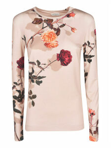 Dries Van Noten Floral Print Jumper