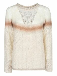 Forte Forte Lace Fur Sweater
