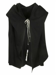 DRKSHDW Wrapped Front Laced Tie Hoodie