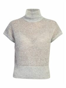 Brunello Cucinelli Short Sleeves Sweater