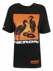 HERON PRESTON Oversized Printed T-shirt