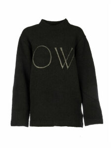 Off-White Of Knit Oversize Sweater
