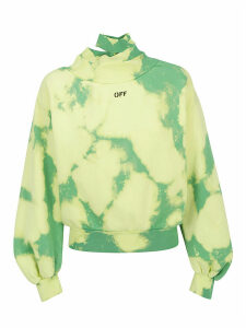 Off-White Off-white Tie Dye Sweatshrit