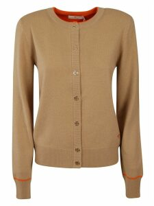 Tory Burch Ribbed Cardigan