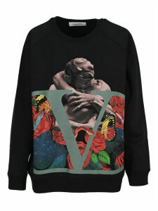 Valentino Undercover Print Sweatshirt