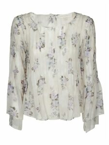 LoveShackFancy Floral Blouse